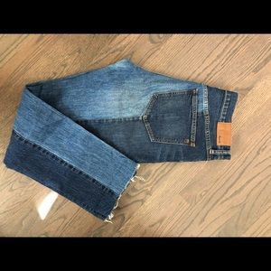 Two tone Madewell jeans